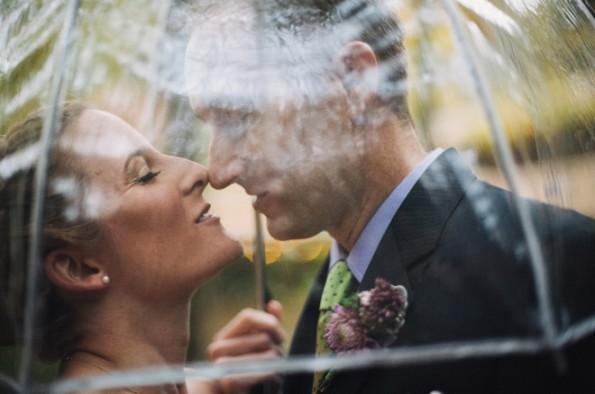clear umbrella wedding photography portrait
