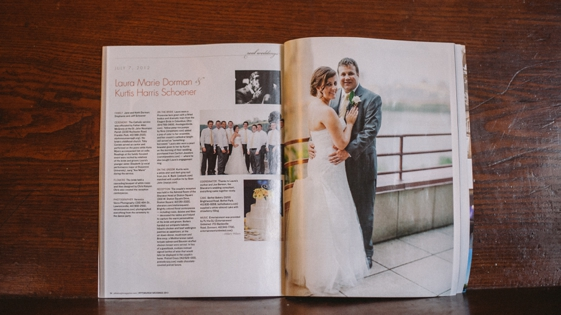 Published wedding photographers
