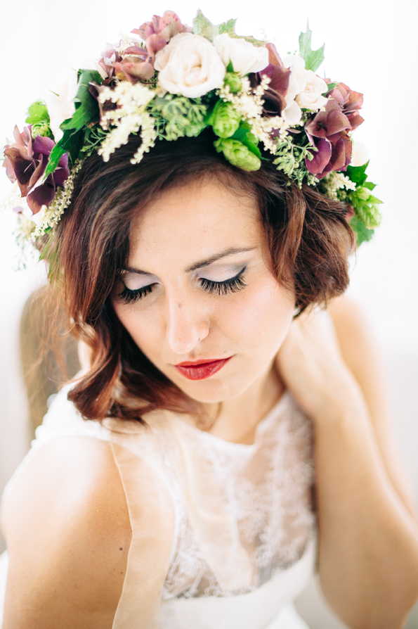 organic wedding portraits