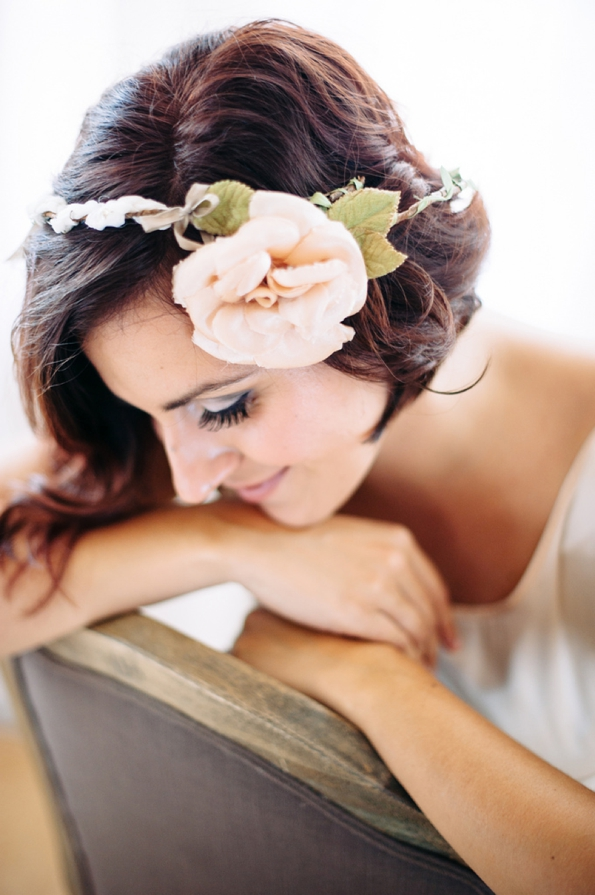 flower hair accent wedding