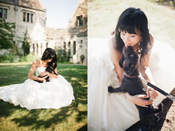Bride at Hartwood Acres