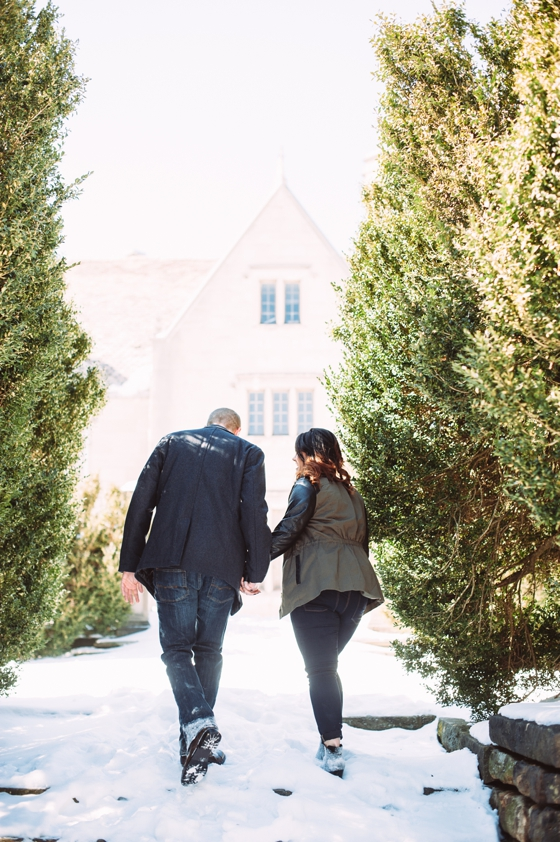 Late Afternoon Engagement Session at Hartwood Acres