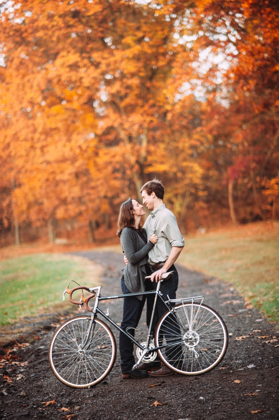 Foggy Morning Engagement Session at Hartwood Acres
