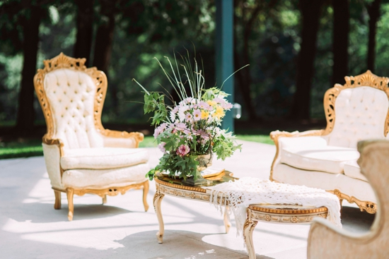 Pavillion Wedding at Hartwood Acres (Rentals from Vintage Alley Rentals, Flowers from Thommy Conroy)