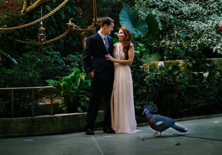 National Aviary wedding inspiration