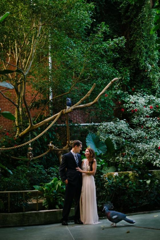 National Aviary wedding photographers