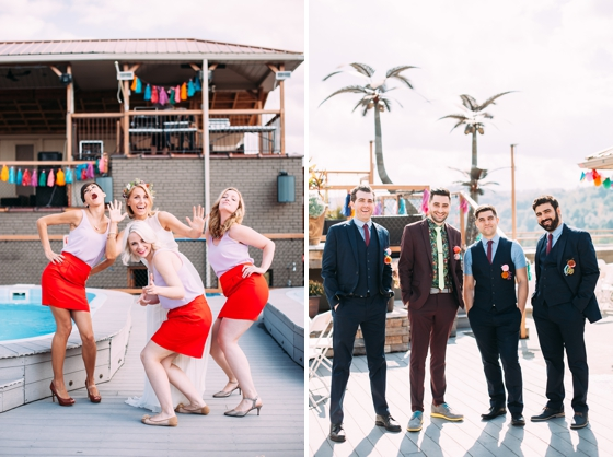 Stylish Rooftop Wedding Inspiration