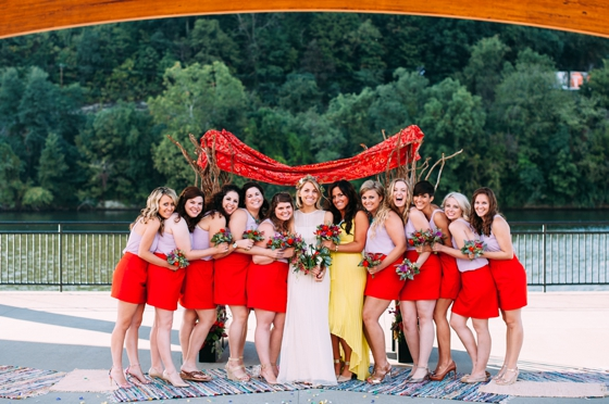 creative bridesmaids