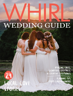Scan courtesy of Whirl Magazine - Whirl Wedding Magazine Guide logo