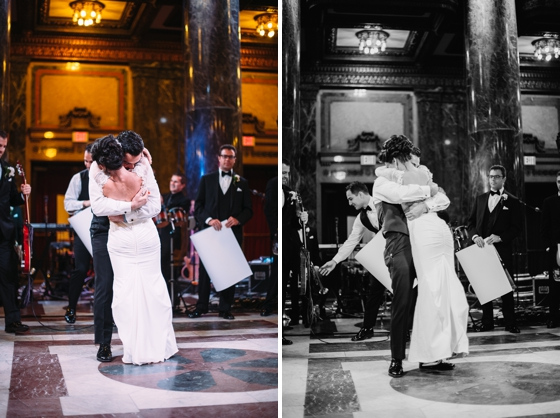 Carnegie Music Hall Wedding