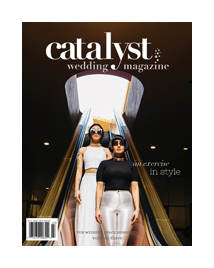 Catalyst wedding magazine photographers