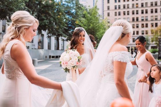 Candid brides