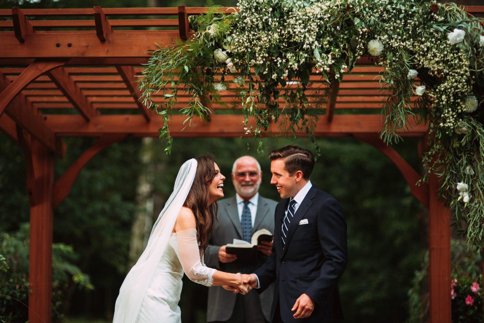 Robin Hill outdoor wedding