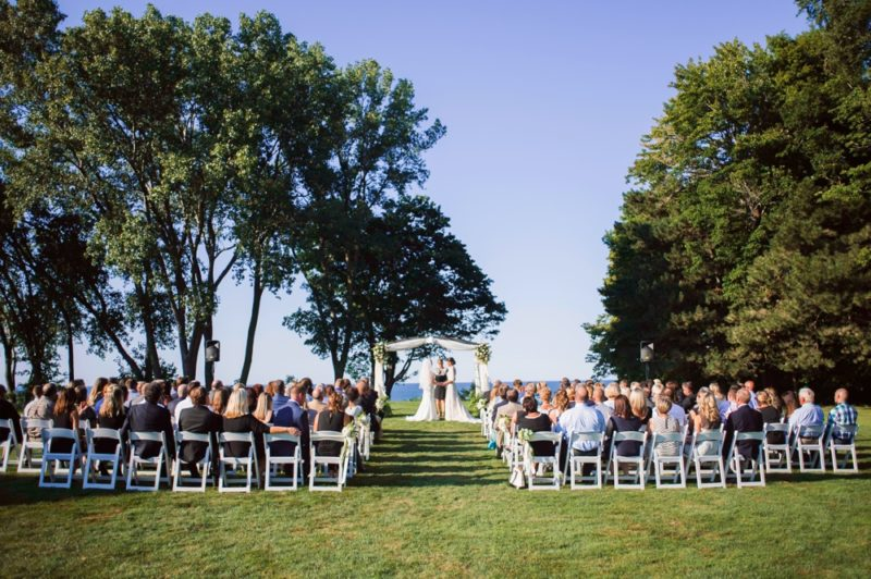 Lake Erie Wedding Ceremony