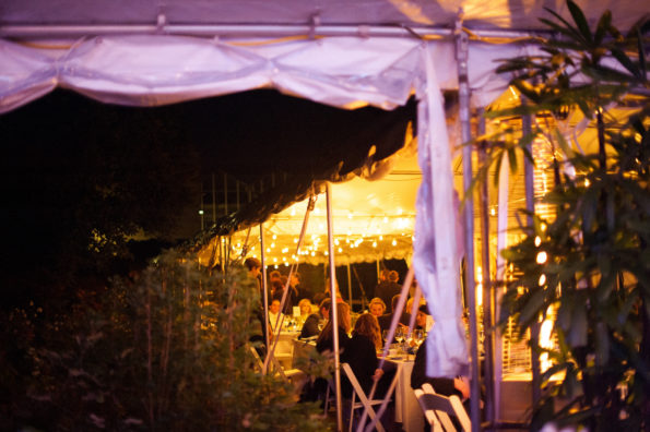 Wedding reception at Phipps Conservatory