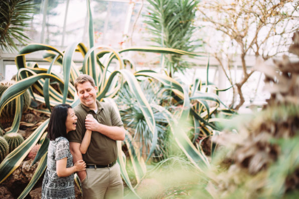 Engagement Session at Phipps Conservatory