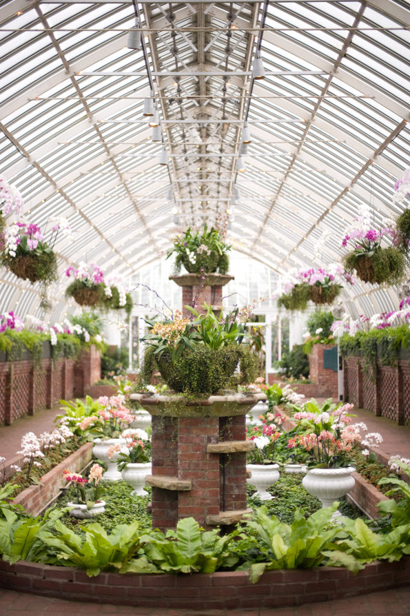 Interior of Phipps Conservatory