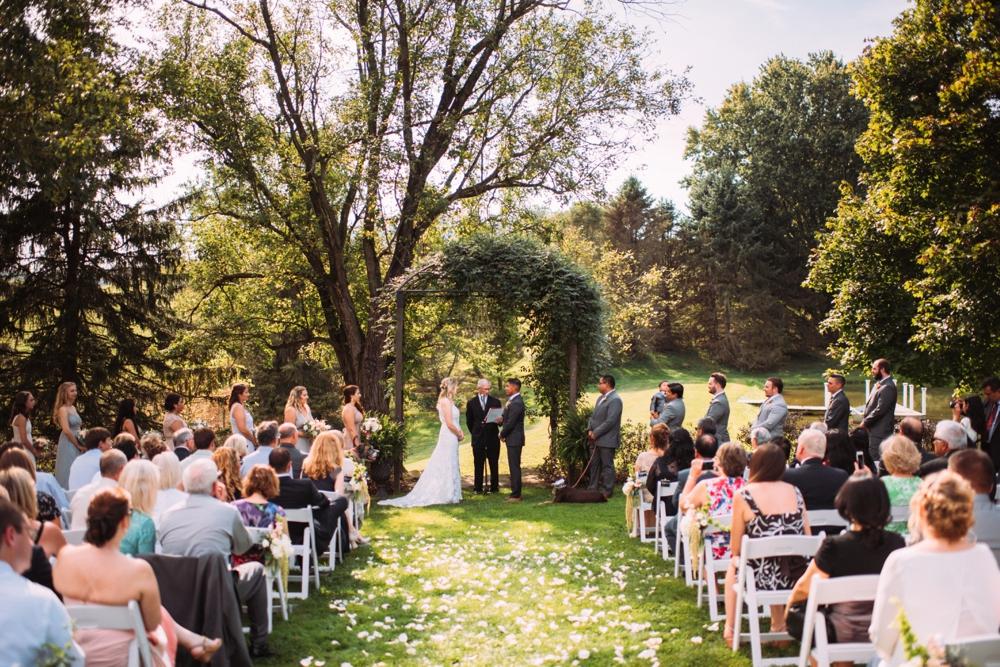 beautiful outdoor wedding ceremony ideas