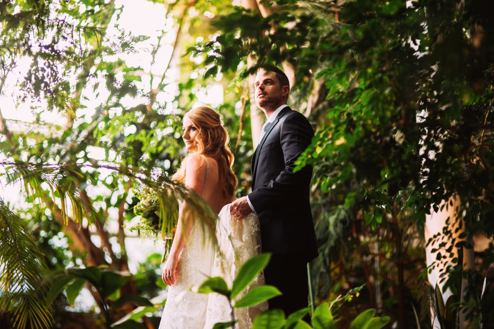Phipps Conversatory Wedding Pittsburgh