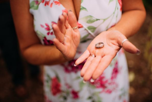 passing of the wedding rings