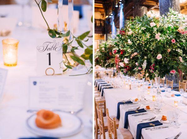 Gorgeous winter wedding details
