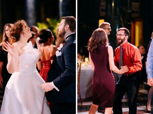 wild wedding dance floor