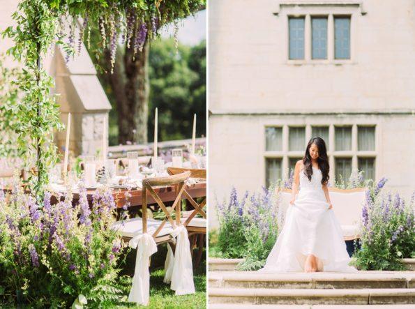 elegant mansion wedding inspiration