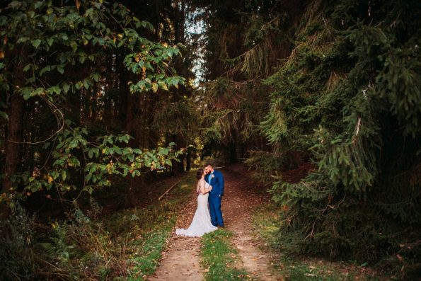 wedding in the forest in Maryland