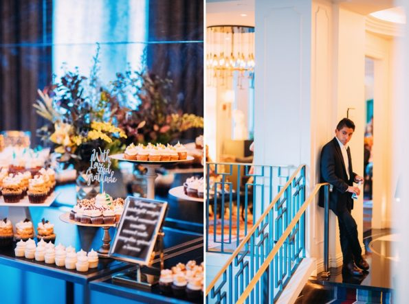 Details and wedidng guest at Kimpton Hotel Monaco