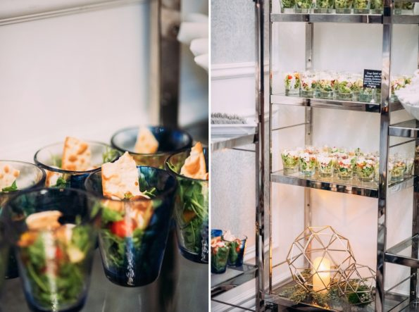 Salad bar at Kimpton Hotel Monaco