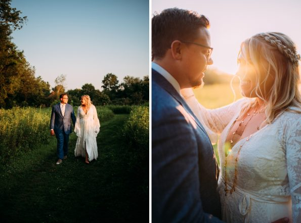 Documentary wedding photography at Pittsburgh Botanic Gardens