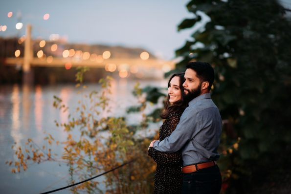 Pittsburgh Engagement Photographer The Color Park