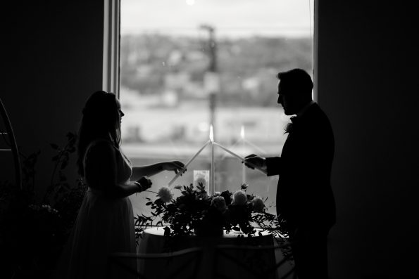 Bar Marco Pittsburgh Wedding Photographer Small Intimate