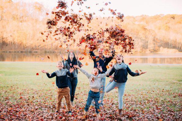 Family Fun Autumn Pittsburgh Photographers