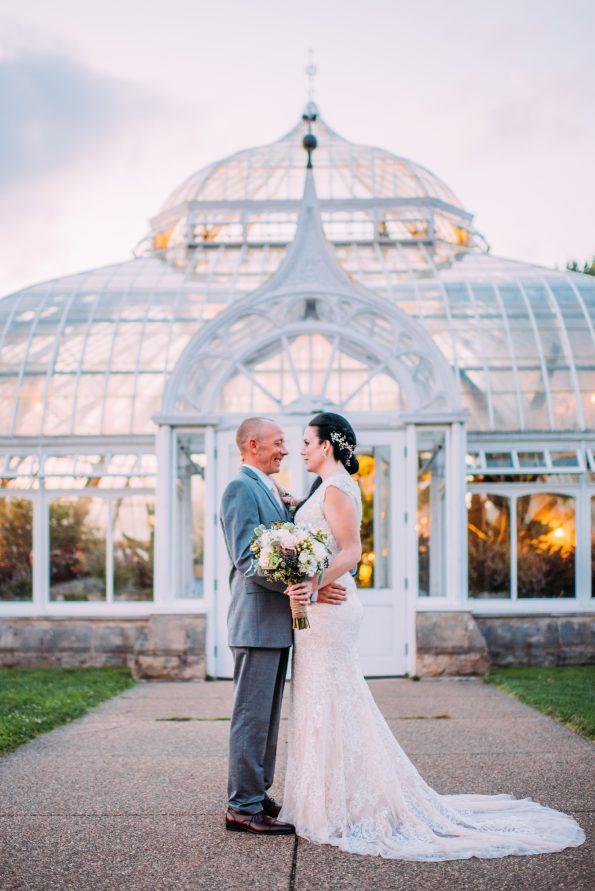 Phipps Conservatory Wedding Photographer Pittsburgh