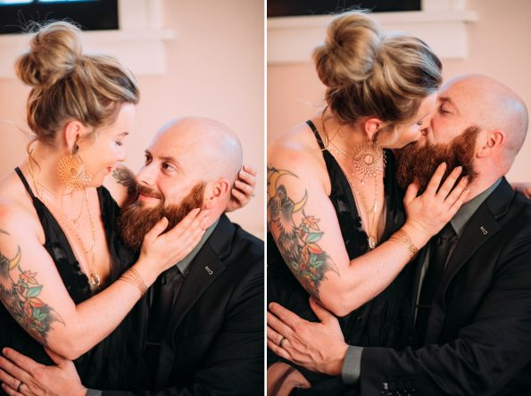 Private Backyard Wedding Elopement Intimate Small Pittsburgh Photography