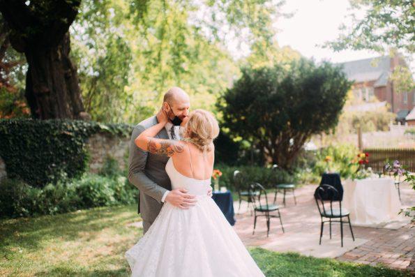 Intimate Pittsburgh wedding